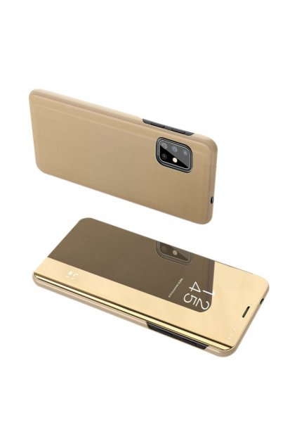 eng pl Clear View Case cover for Samsung Galaxy S20 Plus golden 56601 1