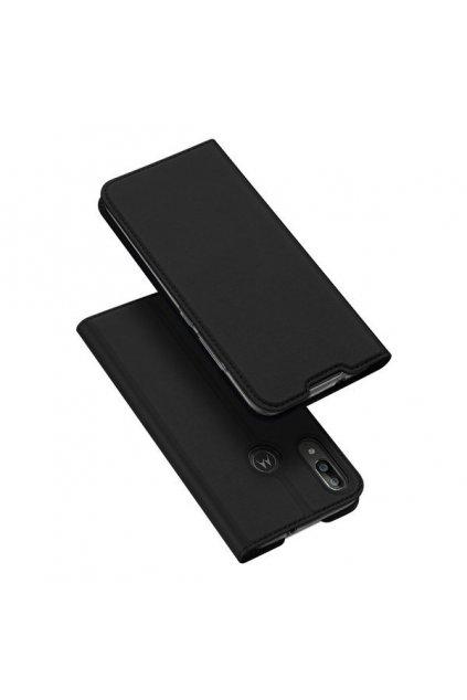 eng pl DUX DUCIS Skin Pro Bookcase type case for Motorola Moto E6 Plus black 55097 1