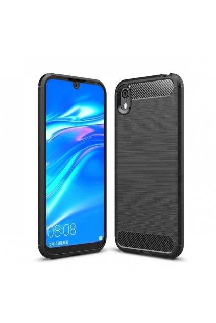 pol pl Carbon Case elastyczne etui pokrowiec Huawei Y5 2019 Honor 8S czarny 51400 1