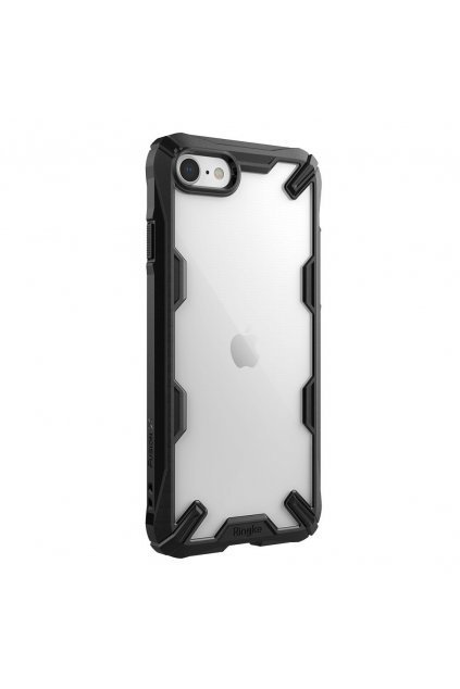 eng pl Ringke Fusion X durable PC Case with TPU Bumper for iPhone SE 2020 iPhone 8 iPhone 7 black FUAP0022 60262 2