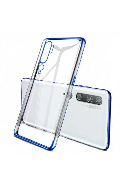 eng pl Clear Color Case Gel TPU Electroplating frame Cover for Xiaomi Mi Note 10 Mi Note 10 Pro Mi CC9 Pro blue 59776 1