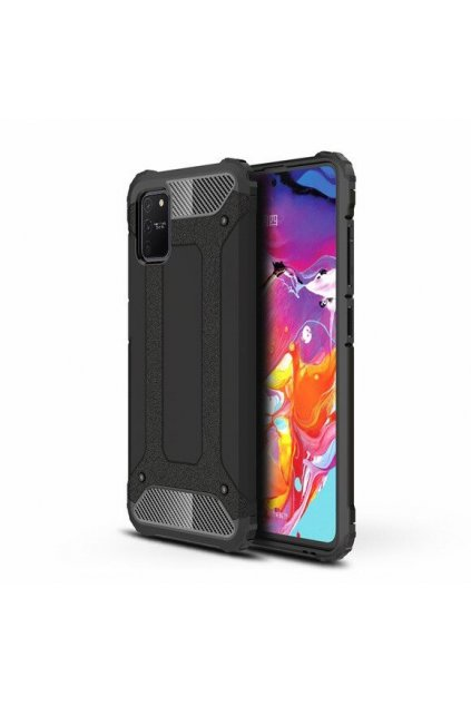 eng pl Hybrid Armor Case Tough Rugged Cover for Samsung Galaxy S10 Lite black 58655 1