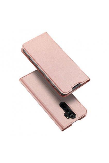 eng pl DUX DUCIS Skin Pro Bookcase type case for Xiaomi Redmi Note 8 Pro pink 55143 1