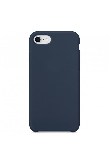 eng pl Silicone Case Soft Flexible Rubber Cover for iPhone SE 2020 iPhone 8 iPhone 7 dark blue 40745 1