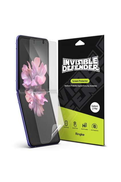 eng pl Ringke Invisible Defender 2x Full TPU Coverage Screen Protector for Samsung Galaxy Z Flip case friendly IDSG0009 60257 1