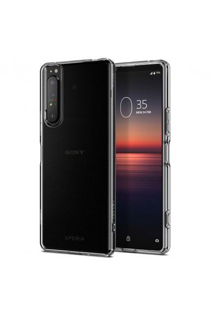 eng pl Spigen Liquid Crystal Sony Xperia 1 Ii Crystal Clear 59925 1