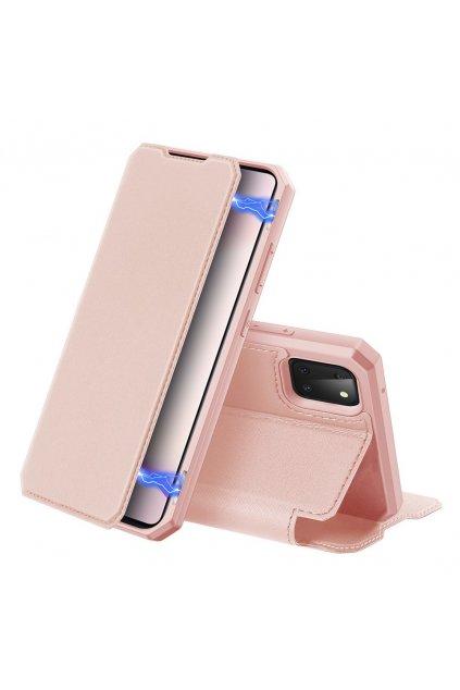 eng pl DUX DUCIS Skin X Bookcase type case for Samsung Galaxy Note 10 Lite pink 60095 1 kopie