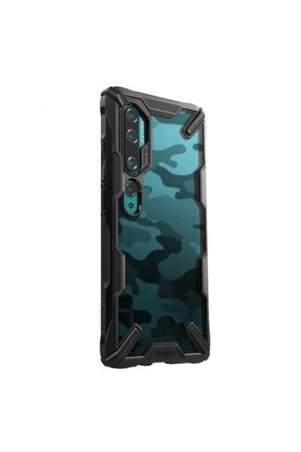 eng pm Ringke Fusion X Design durable PC Case with TPU Bumper for Xiaomi Mi Note 10 Mi Note 10 Pro Mi CC9 Pro Camo Black XDXI0005 56622 8