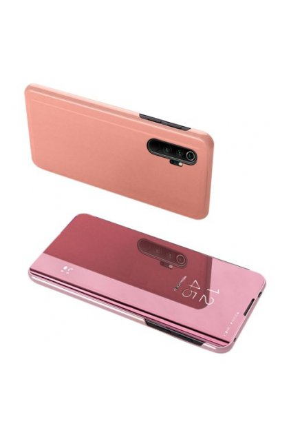 eng pm Clear View Case cover for Xiaomi Mi Note 10 Mi Note 10 Pro Mi CC9 Pro pink 56007 1