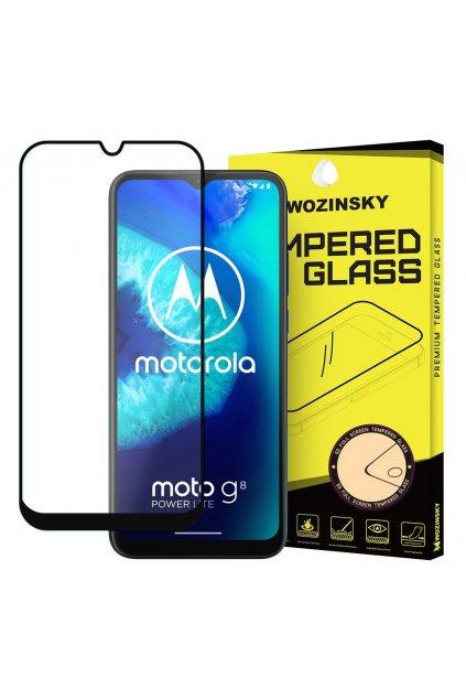 eng pl Wozinsky Tempered Glass Full Glue Super Tough Screen Protector Full Coveraged with Frame Case Friendly for Motorola Moto G8 Power Lite black 59826 1