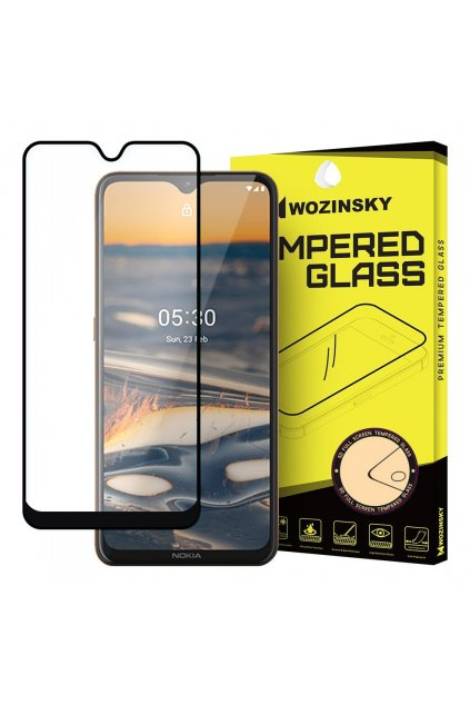 eng pl Wozinsky Tempered Glass Full Glue Super Tough Screen Protector Full Coveraged with Frame Case Friendly for Nokia 5 3 black 59632 1