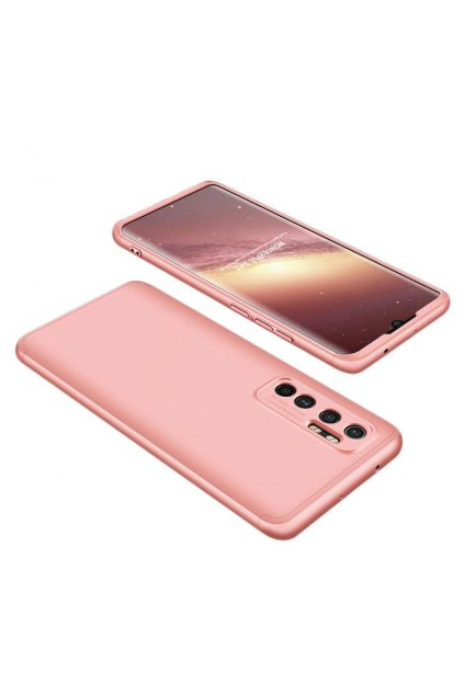 eng pl GKK 360 Protection Case Front and Back Case Full Body Cover Xiaomi Mi Note 10 Lite pink 62851 1