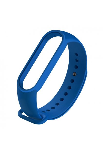 eng pl Replacement band strap for Xiaomi Mi Band 5 dark blue 61950 2