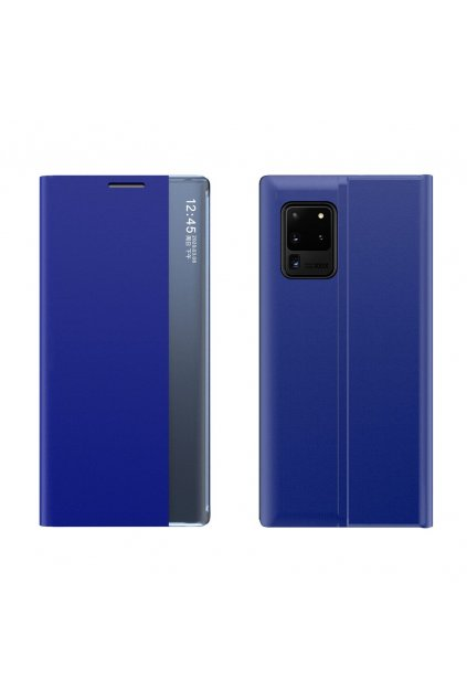 eng pl Sleep Case Bookcase Type Case with Smart Window for Samsung Galaxy Note 20 Ultra blue 61934 1