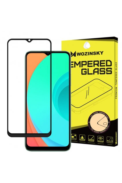 eng pl Wozinsky Tempered Glass Full Glue Super Tough Screen Protector Full Coveraged with Frame Case Friendly for Realme C11 transparent 63223 1