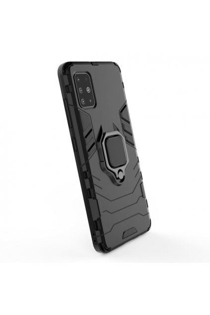 eng pl Ring Armor Case Kickstand Tough Rugged Cover for Samsung Galaxy A71 black 56587 3