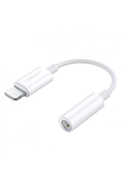 eng pl Ugreen MFI Adapter from Lightning to headphones jack 3 5 mm port white US212 30759 61917 1