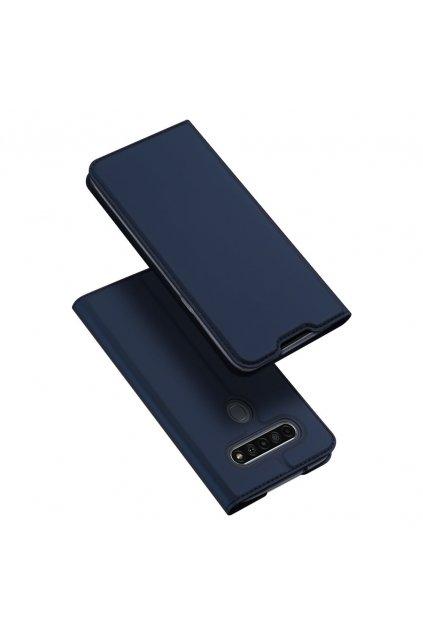 eng pl DUX DUCIS Skin Pro Bookcase type case for LG K61 blue 63258 1