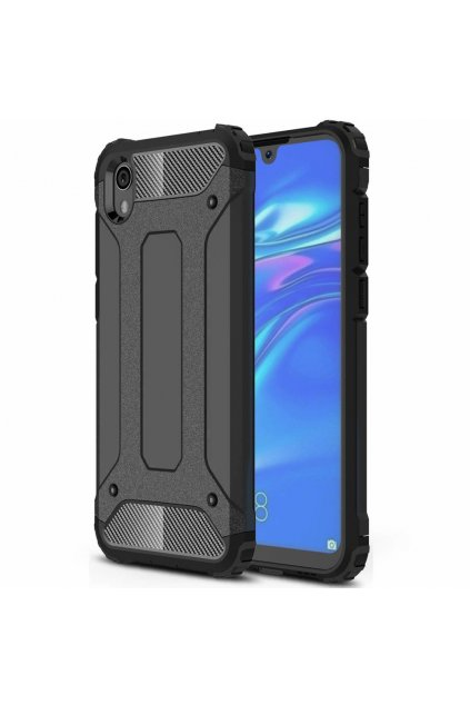eng pl Hybrid Armor Case Tough Rugged Cover for Huawei Y5 2019 Honor 8S black 51474 1