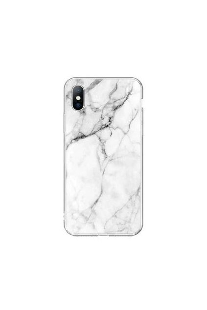 eng pl Wozinsky Marble TPU case cover for Xiaomi Redmi Note 7 white 53513 2