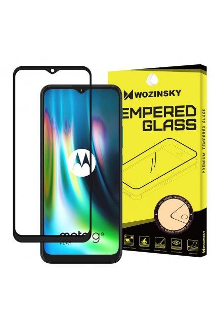 pol pl Wozinsky super wytrzymale szklo hartowane Full Glue na caly ekran z ramka Case Friendly Motorola Moto G9 Play Moto E7 Plus czarny 66113 1