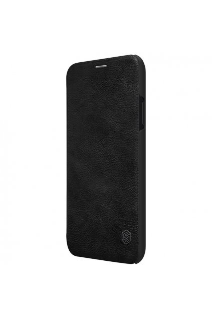 eng pl Nillkin Qin original leather case cover for iPhone XR black 44623 1