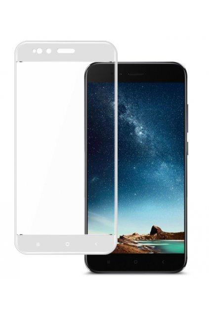 3D tvrzené sklo na Xiaomi MI A1 bílé
