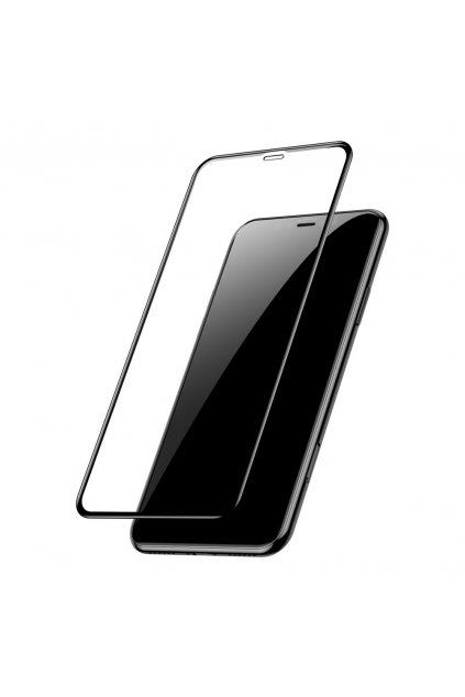 eng pl Baseus PET Soft 3D Tempered Glass Film Full Screen Protector with PET Rim for Apple iPhone 11 Pro Max iPhone XS Max 0 23 mm black SGAPIPH65 PE01 48216 1