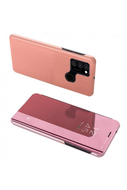 eng pl Clear View Case cover for Samsung Galaxy A12s pink 66595 8
