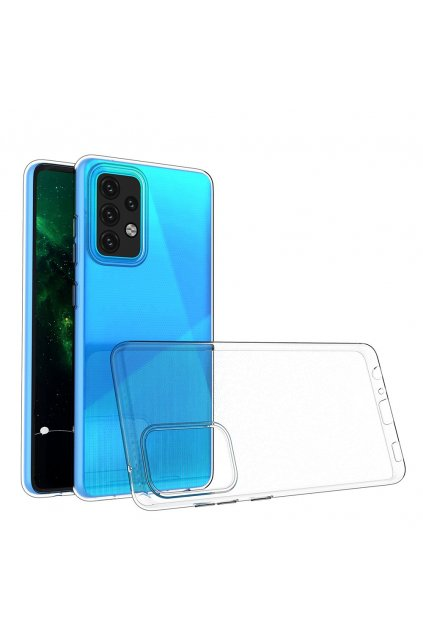 eng pl Ultra Clear 0 5mm Case Gel TPU Cover for Samsung Galaxy A02s transparent 66648 1