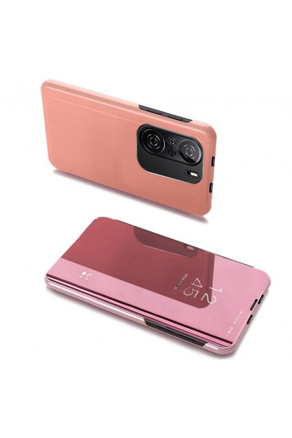 eng pl Clear View Case cover for Xiaomi Redmi K40 Pro K40 Pro K40 Poco F3 pink 70379 1