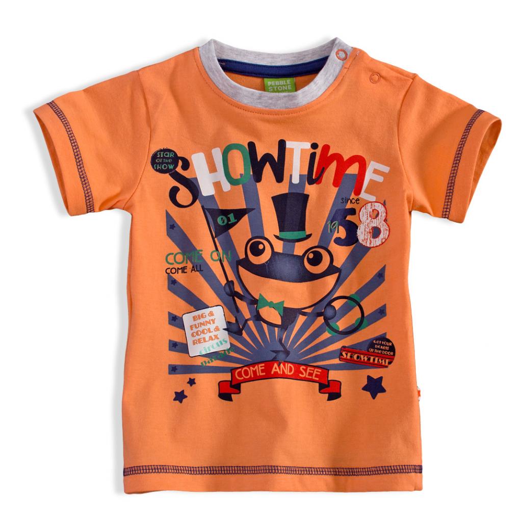 BEWOX velkoobchod Kojenecké tričko PEBBLESTONE 3668380-00-OR5