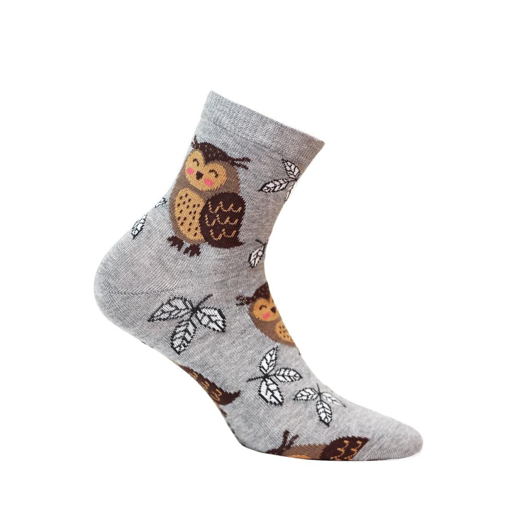 ponožky vzor WOLA SOVY