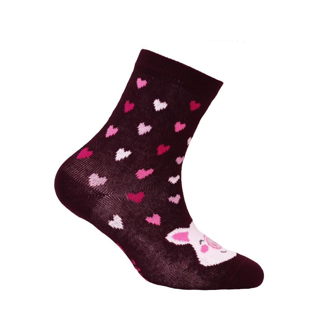 dětské ponožky vzor WOLA PRASÁTKO
