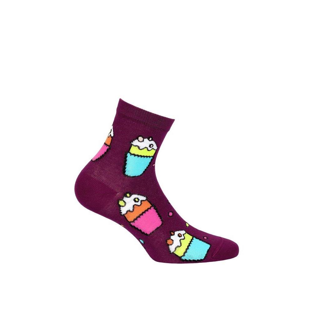 ponožky vzor WOLA CUPCAKES