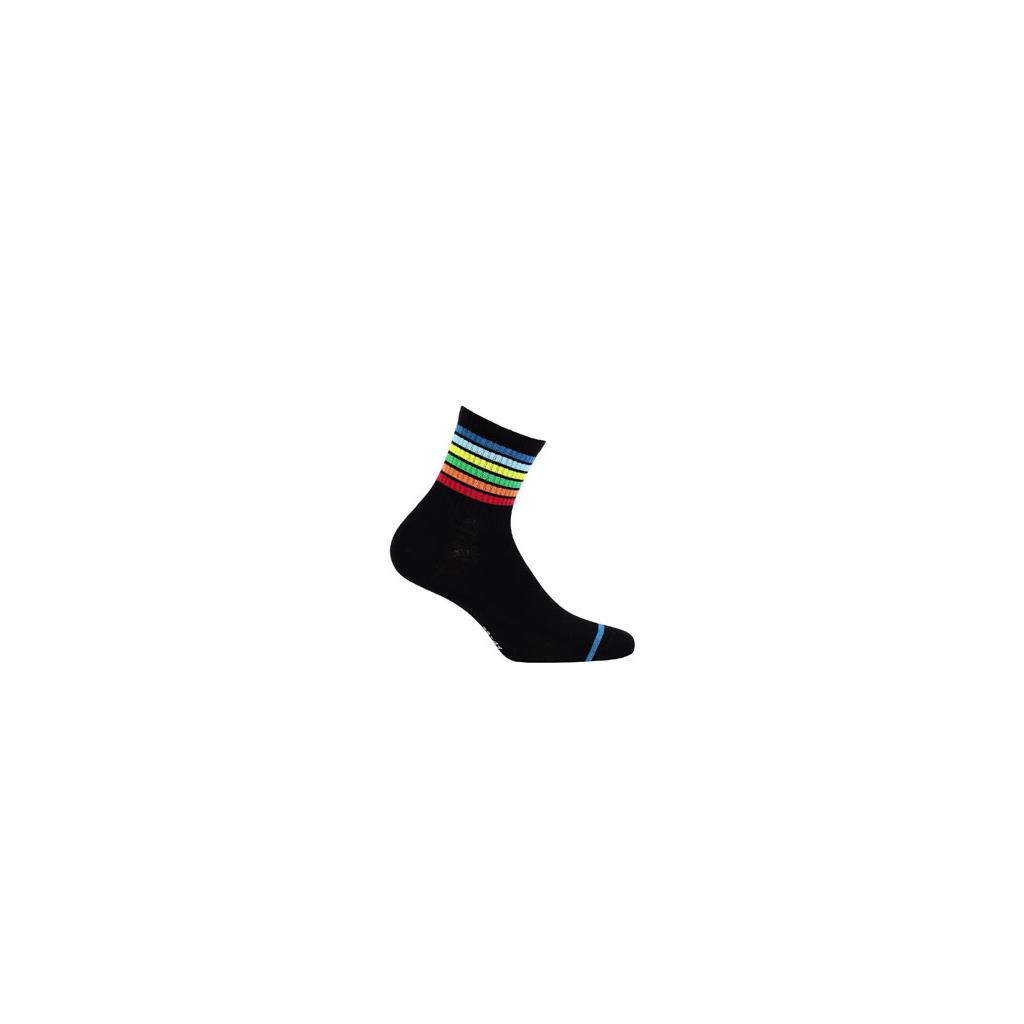 ponožky vzor WOLA BAREVNÉ PROUŽKY