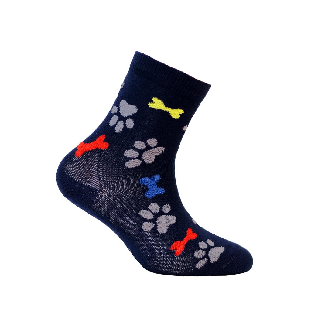 dětské ponožky vzor WOLA STOPY A KOSTI