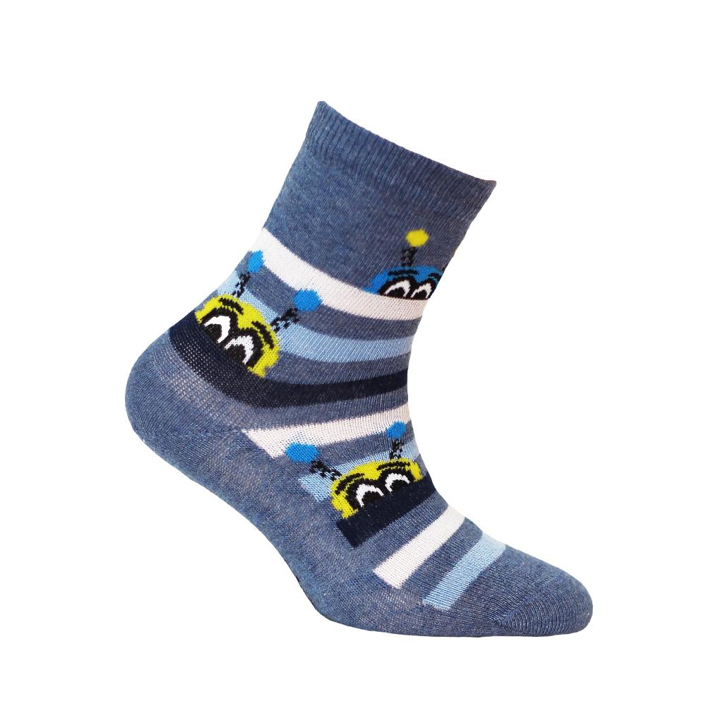 dětské ponožky vzor WOLA PŘÍŠERKY