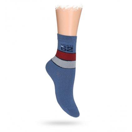 Dětské vzorované ABS ponožky WOLA SPORT