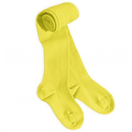 dětské punčocháče jednobarevné WOLA žluté