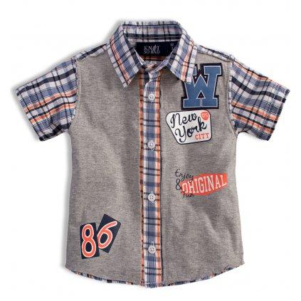 BEWOX velkoobchod Dětská košile KNOT SO BAD C-Z17-8205-OR5