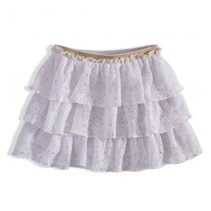 BEWOX velkoobchod Dětská sukně MINOTI RAINFOR-09-WH1