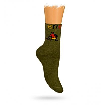 BEWOX velkoobchod dětské ponožky termo WOLA Z4-26-001-G45