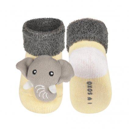 BEWOX velkoobchod Kojenecké ponožky SOXO SX-75245-0-F00