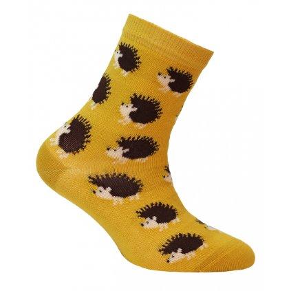 dětské ponožky vzor WOLA JEŽCI