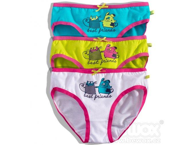 Dívčí kalhotky KEY 3ks