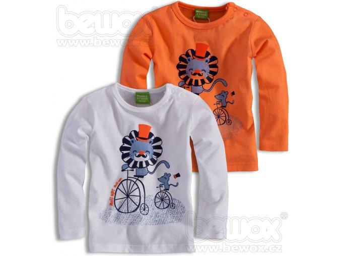 Dětské triko PEBBLESTONE balení 4ks