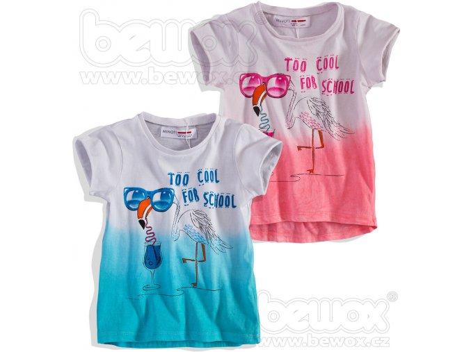 Dětské tričko MINOTI balení 4ks