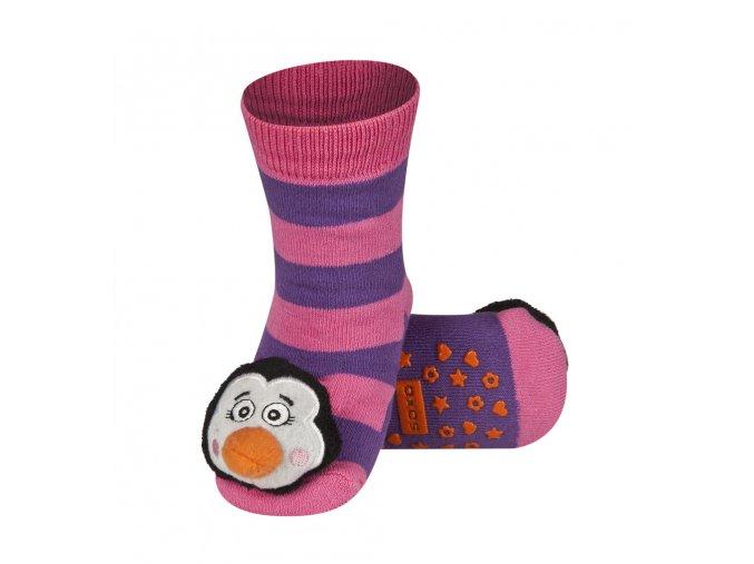 Dětské chrastítkové ponožky SOXO TUČŇÁK