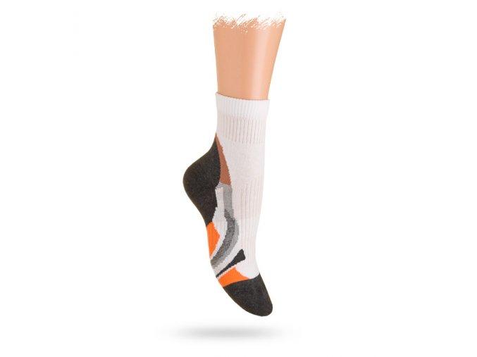Dětské vzorované ponožky WOLA sportive